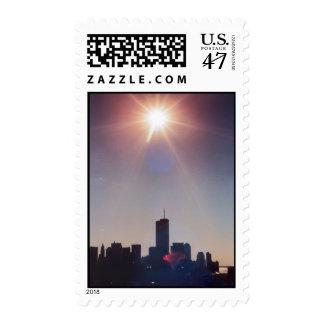 star of new york city world trade center postage stamp