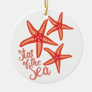 Star Of Sea Ceramic Ornament