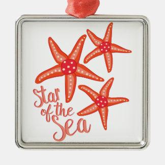 Star Of Sea Metal Ornament