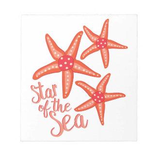 Star Of Sea Notepad