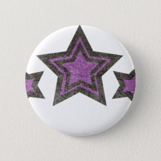 star of star pinback button