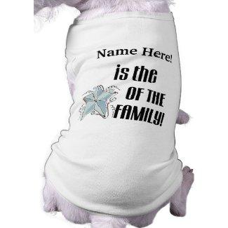 Star of the Family Dog Tshirt petshirt