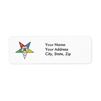 Star of the OES Return Address Labels