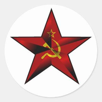Star_of_the_Soviet_Union Classic Round Sticker