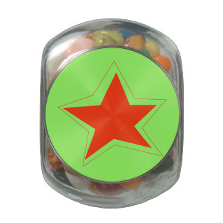 Star of the Week jelly bean container Glass Jars
