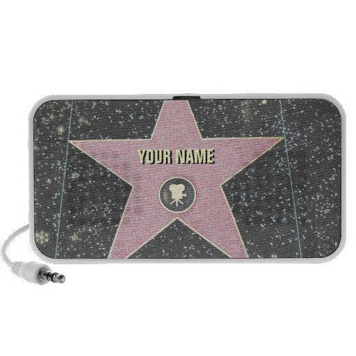 Star on the Walk of Fame (customizable) Notebook Speakers