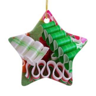 Star Ornament Ribbon Candy ornament