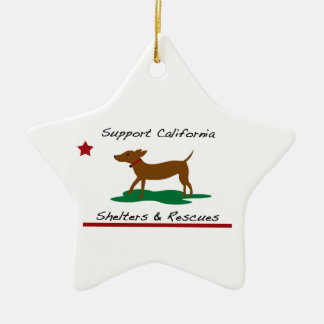 Star Ornament Supports Rescues and Shelters
