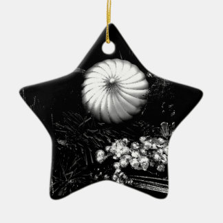 STAR ORNAMENT WITH **CHRISTMAS DECORATIONS**