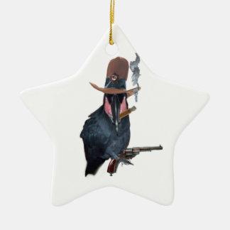 Star Outlaw Cez Ceramic Ornament