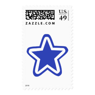 Star outline postage
