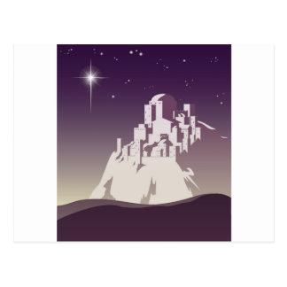 Star over Bethlehem Postcard