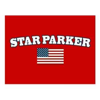 Star Parker for America Postcard