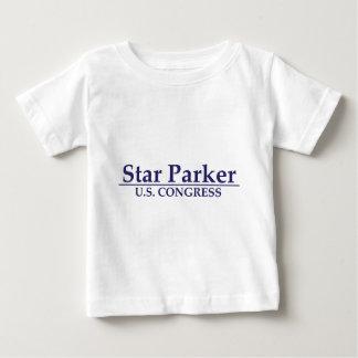 Star Parker for U.S. Congress Baby T-Shirt