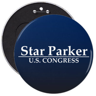 Star Parker for U S Congress Button
