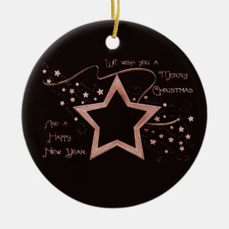 Star Patch (solid) Christmas Tree Ornaments