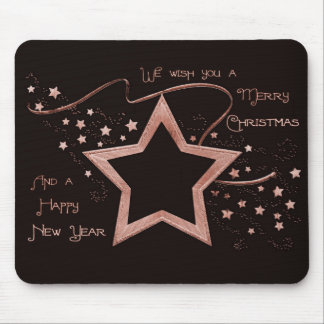 Star Patch (solid) Mouse Pad