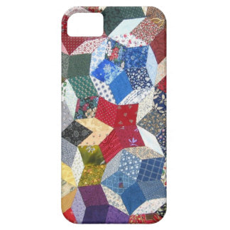 Star Patchwork Quilt Vintage Look iPhone SE/5/5s Case