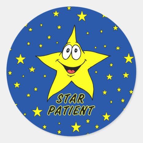 Star Patient Stickers