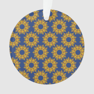 star pattern blue