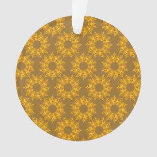 star pattern brown