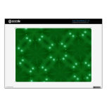 Star Pattern green Acer Chromebook Decal