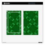 Star Pattern green Skins For Kindle Fire