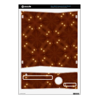 Star Pattern red Xbox 360 S Console Skin