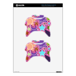 Star Pattern Xbox 360 Controller Skins