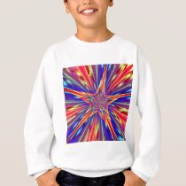 Star Pattern Sweatshirt