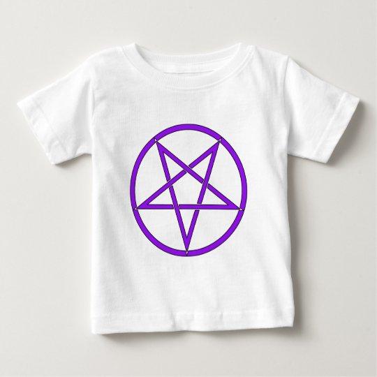 Star Pentagram Five 5 Pointed Symbol Classic Comic Baby T-Shirt