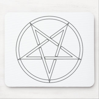 Star Pentagram Five 5 Pointed Symbol Classic Comic Mouse Pad