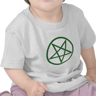 Star Pentagram Five 5 Pointed Symbol Classic Comic Shirts