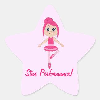 Star Performance Dance and Ballet Star Sticker