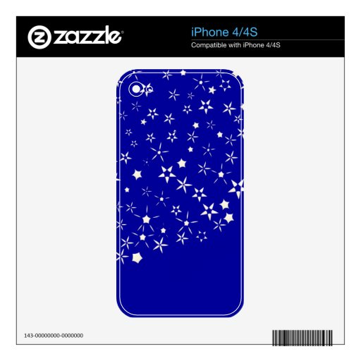 Star Phone Cover iPhone 4S Decals