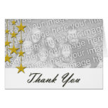 Star Photo Template Thank you Card