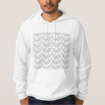 star pinstripe hoodie