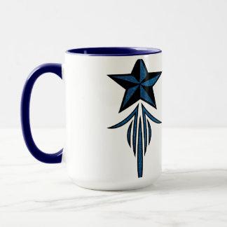 Star Pinstripe Mug