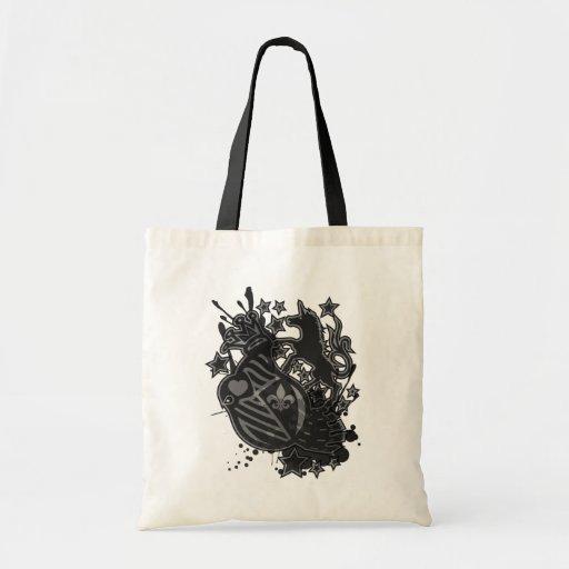 Star_Platinum Canvas Bags