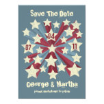 Star Pop Custom Save The Date Announcements