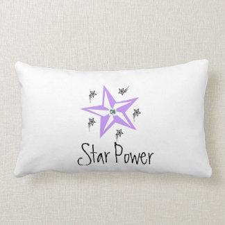 Star power throw pillow
