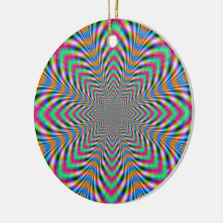 Star Psychedelic Ornament