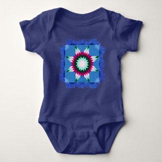 Star Quilt Baby Bodysuit