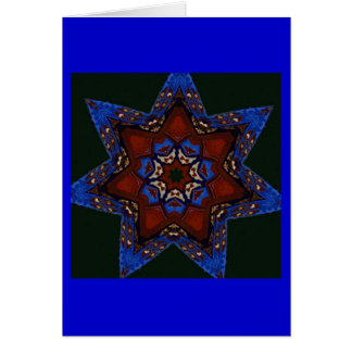 Star Quilt Greeting Cards