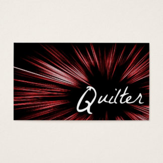 Star Quilter Business Card
