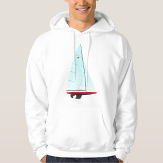 Star  Racing Sailboat onedesign Olympic Class Hoodie