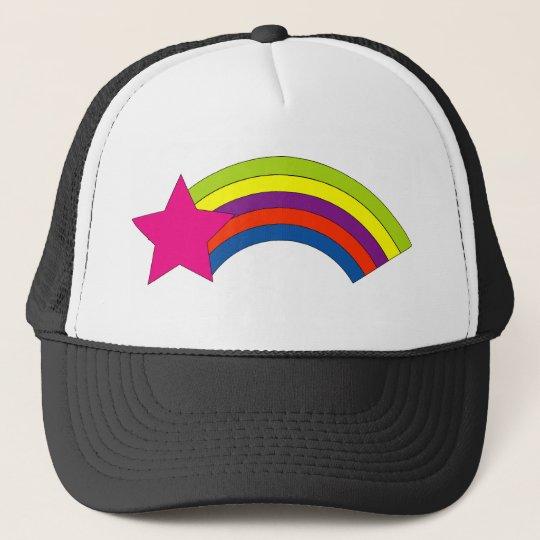 Star Rainbow Hat