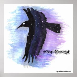 Star Raven, By Felicia Boites Poster