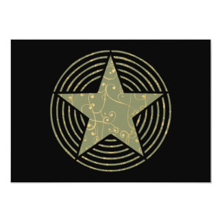 Star Rings Card