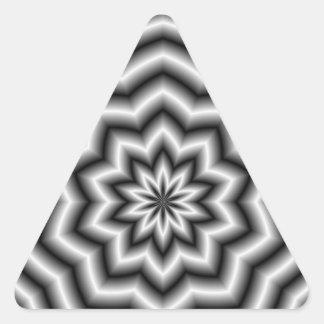 Star Ripples Triangle Sticker